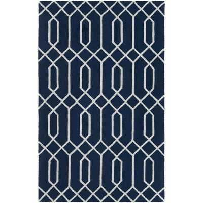 Impression Ashley Hand-Tufted Blue Area Rug - Wayfair