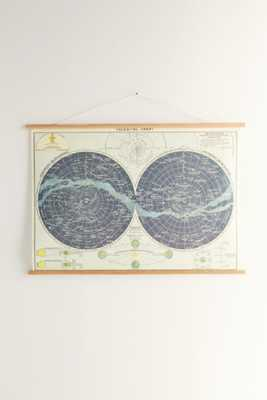 Hanging Celestial Chart Art Print - Urban Outfitters