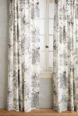 "Willowherb Curtain - 84""x50"" - Anthropologie"