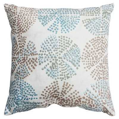 "Thresholdâ""¢ Square Shell Grid Pillow-18''x 18""-Polyester insert - Target"