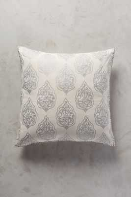 "John Robshaw Cartouche Pillow - 26"" x 26"" - Down fill - Anthropologie"