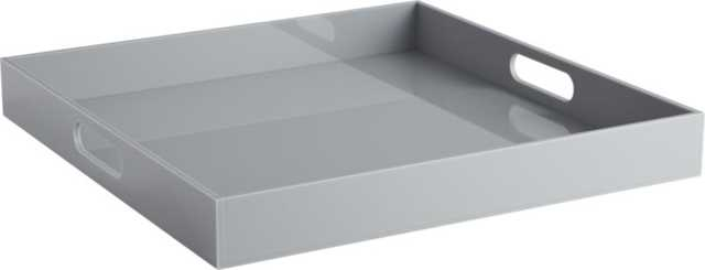 Format grey tray - CB2