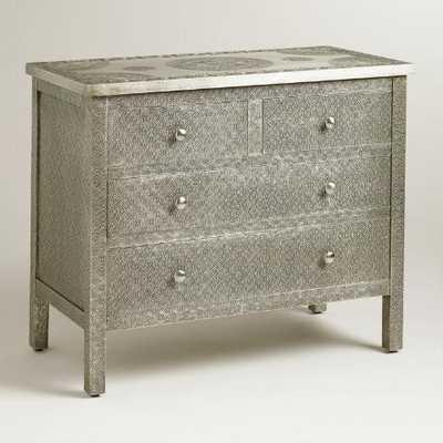 Kiran Embossed Metal Dresser - World Market/Cost Plus