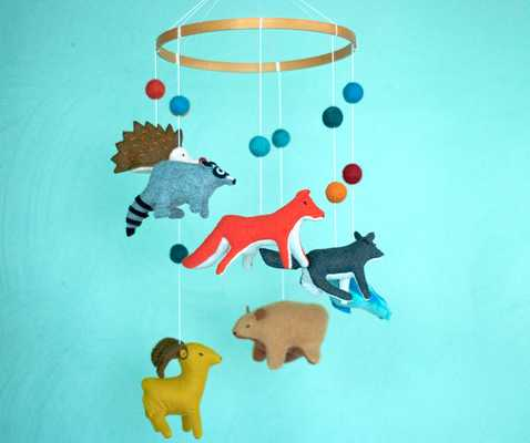 Baby tribal mobile - Etsy