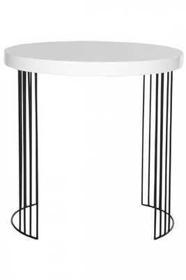 MEDINA ACCENT TABLE - WHITE - Home Decorators