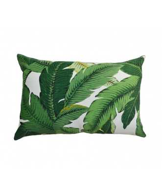 Banana Palm Pillow with Insert - Lulu and Georgia