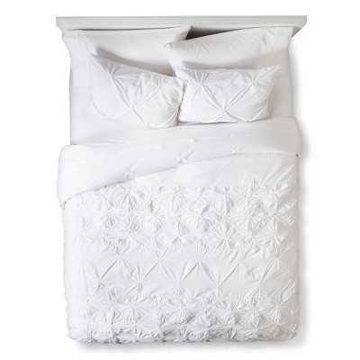 Boho Boutique® Texture Duvet Cover Set - White - Target