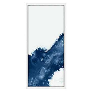 Sapphire Conduit 1 - 36x72 - Framed - Z Gallerie