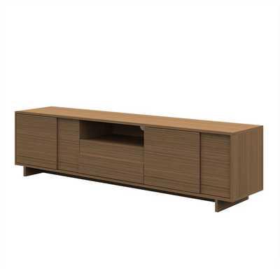 TV Stand in Medium brown light birch - AllModern