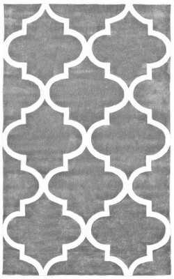 Fez Slate Area Rug - Domino