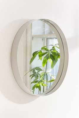 Averly Circle Mirror, White - Large - Urban Outfitters