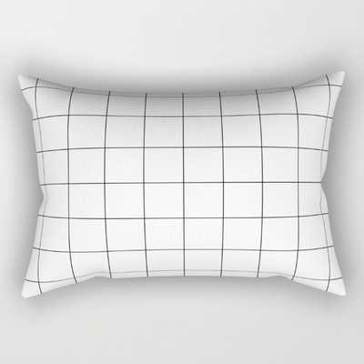 "RECTANGULAR PILLOW SMALL (17"" X 12"") With Faux down insert - Society6"