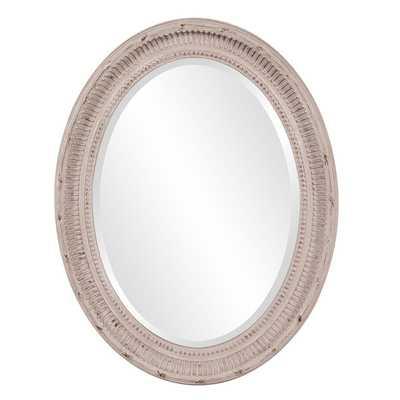 Nero Oval Mirror - Overstock