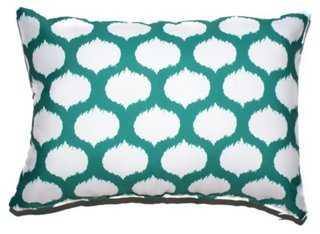 Ikat Circles Pillow - One Kings Lane