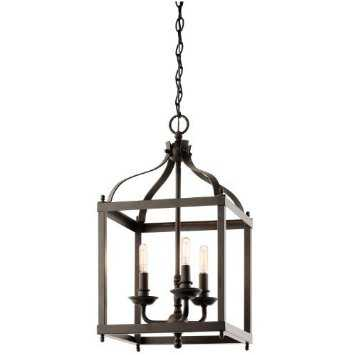Kichler Lighting 42566OZ Larkin Olde Bronze Pendant - Houzz