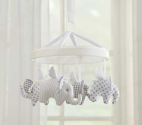 Flying Elephant Mobile - Pottery Barn Kids