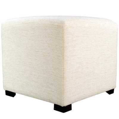 MJL Furniture Belfast 4-button Tufted Square Ottoman - Overstock