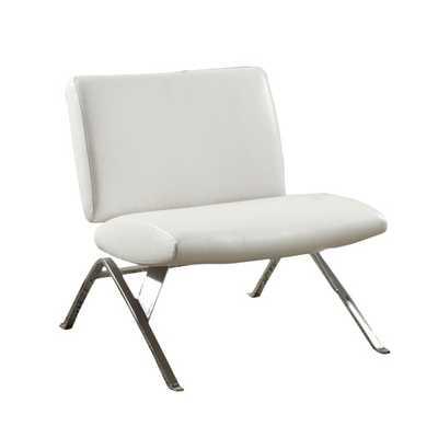 Parsons Lounge Chair in White - AllModern