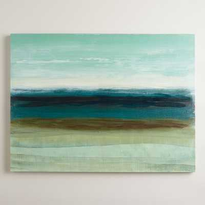 """Horizon"" by Heather McAlpine - 30x40, Unframed - World Market/Cost Plus"