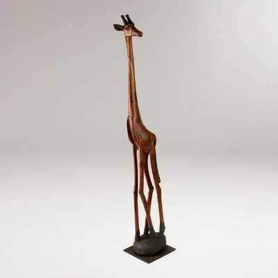 Hand Carved Giraffes - World Market/Cost Plus