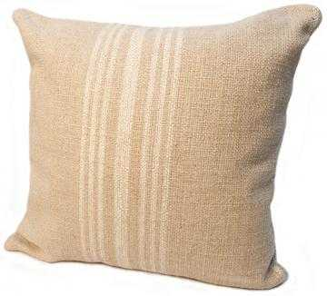 "HOBIE STRIPE PILLOW- 24"" square-Polyester fill - Home Decorators"