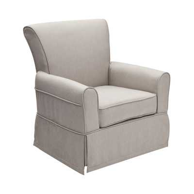 Epic Swivel Glider - Taupe - Wayfair