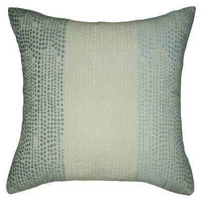 """Vertical Dots Square Pillow - Blue - Thresholdâ""""¢ (With insert) - Target"""