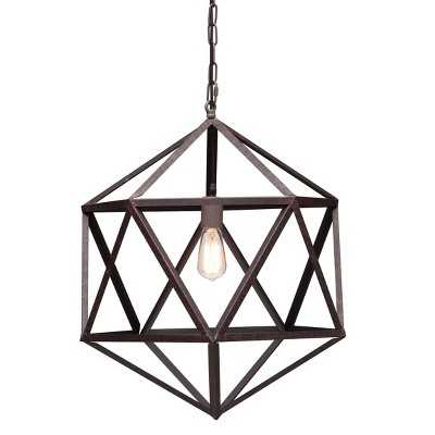 Zuo Amethyst Ceiling Lamp Small - Rust - Target
