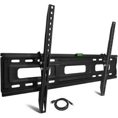 "Tilting TV Wall Mount for 24""-84"" TVs with HDMI Cable, UL Certified - Walmart"
