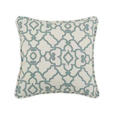 CUSTOM CORDED SQUARE PILLOW - 17x17, with insert - Home Decorators