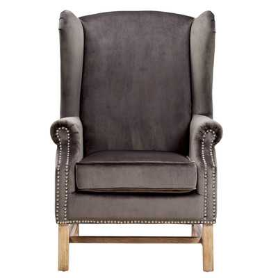 Nora Velvet Arm Chair - Wayfair