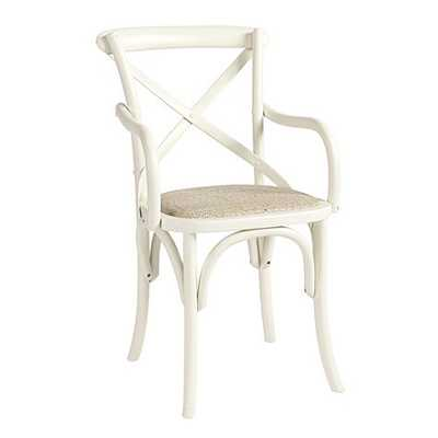Constance Wood Arm Chairs - Set of 2 - Ballard Designs