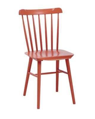 Tucker Chair - Coral - Serena and Lily
