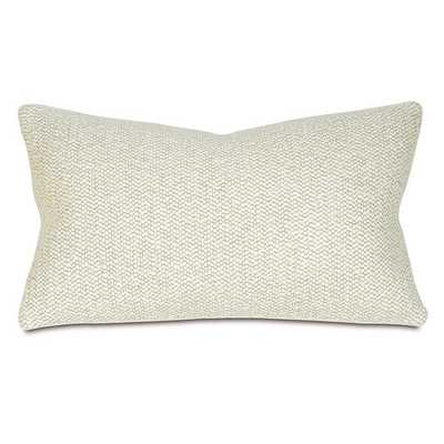 Corfis Lumbar Pillow, Vannila, 13x22, Down/Feather Insert - Wayfair