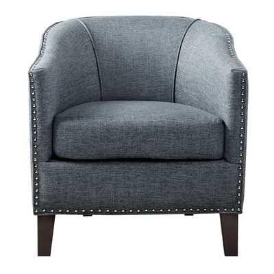 Fremont Barrel Chair - Slate Blue - Wayfair