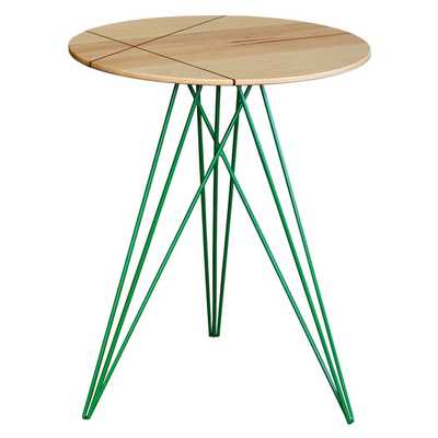 Hudson End Table with Inlay - AllModern
