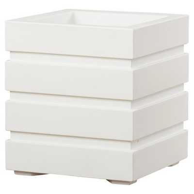 Freeport Square Planter Box - White - AllModern