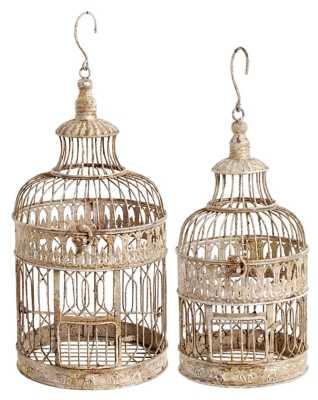 Home Accents Bird Cage (Set of 2) - ashleyfurniturehomestore.com