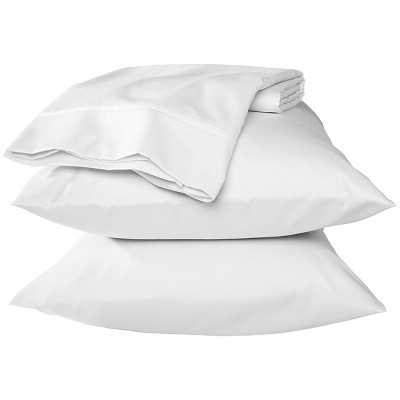 Performance Queen Sheet Set - Solid - White - Target
