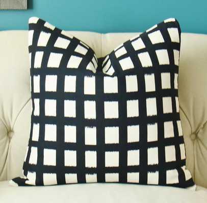 "Buffalo Check - Stripe Pillow - 18"" x 18"" - Insert Sold Separately - Etsy"