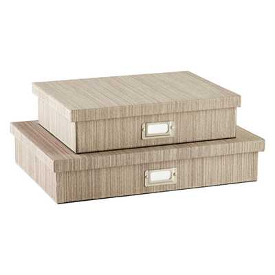 Parker Document Box - containerstore.com