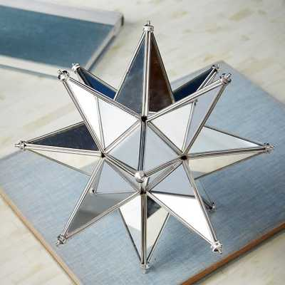 Mirrored Star, Silver-Large - West Elm