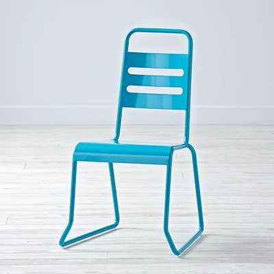 Homeroom Play Chair (Teal) - Land of Nod