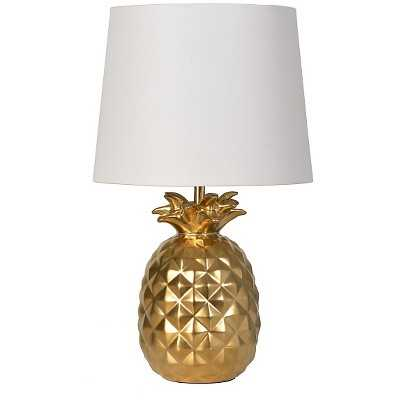 """Pineapple Table Lamp (Includes CFL bulb) - Pillowfortâ""""¢-Gold - Target"""