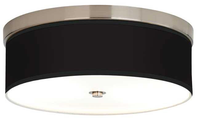 All Black Giclee Energy Efficient Ceiling Light - Lamps Plus