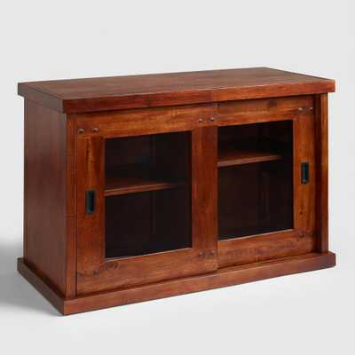 Madera Stacking Cabinet Media Stand - World Market/Cost Plus