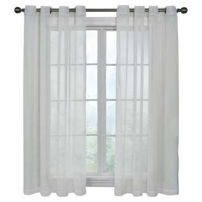 "Pinole Point Single Curtain Panel- 84"" H x 59"" W - Wayfair"