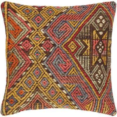 Kilim Decorative Vintage Throw Pillow - insert included - Wayfair