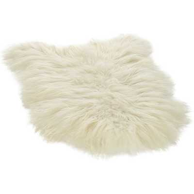 Icelandic Sheepskin Throw - CB2