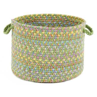 Brenna Basket - Lime - Wayfair